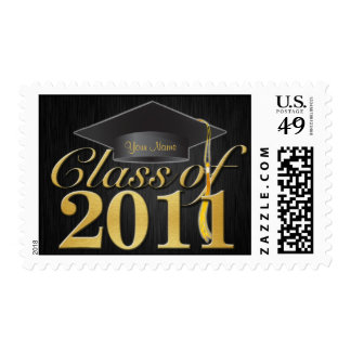 Personalized Elegant Class of 2011 Graduation Postage