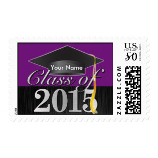 Personalized Elegant Class of 2015 Graduation Postage