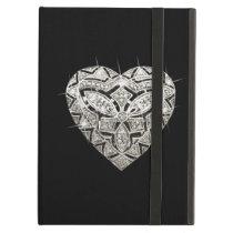 Personalized Elegant Designer Heart iPad Case