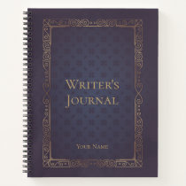 Personalized Elegant Writer's Journal