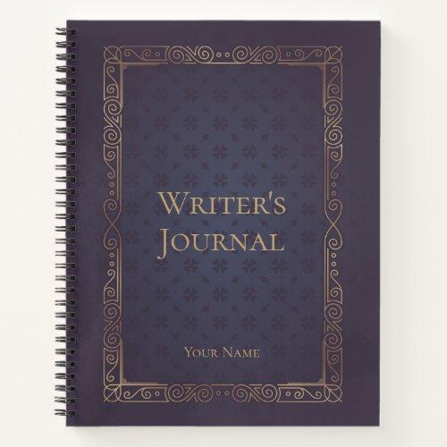 Personalized Elegant Writer's Journal