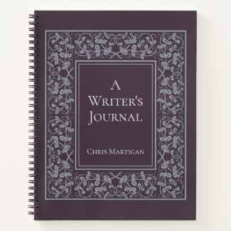 Personalized Elegant Writing Notebook for Authors