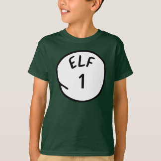 Personalized Elf 1 2 3 Santa's Helper T Shirts