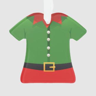 Personalized Elf Santa's Helper Christmas Ornament