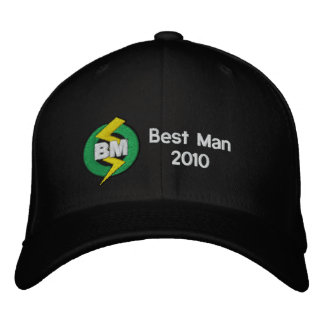 Personalized, Embroidered Best Man Hat Baseball Cap
