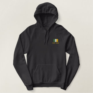 Personalized Embroidered Irish Flag Sweatshirt