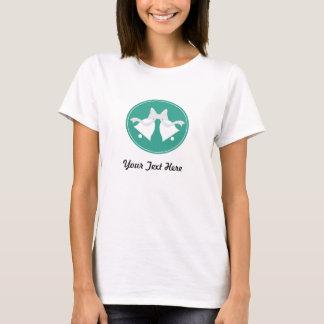 Personalized Emerald Green Wedding Bells T-Shirt