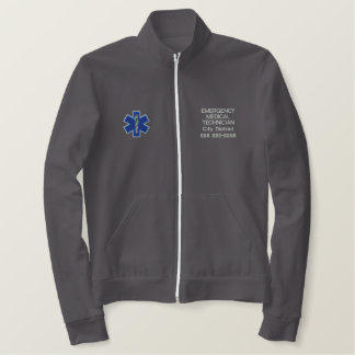 Personalized Emergency Medical Technician EMT Jacket