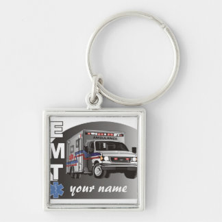 Personalized EMT Keychain