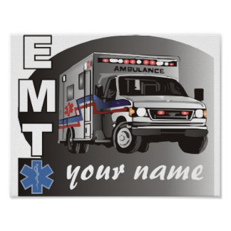 Personalized EMT Poster