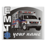 Personalized EMT Print