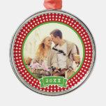 Personalized Engagement Photo Keepsake Ornament
