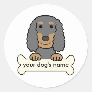 Personalized English Cocker Spaniel Classic Round Sticker