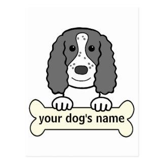 Personalized English Cocker Spaniel Postcard