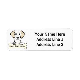 Personalized English Setter Label