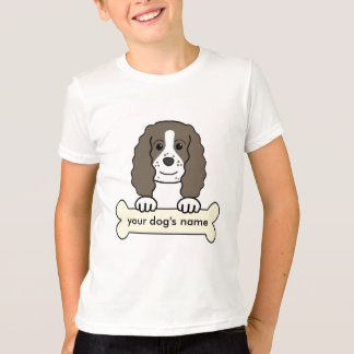 Personalized English Springer Spaniel T-Shirt