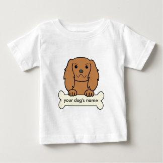 Personalized English Toy Spaniel Baby T-Shirt