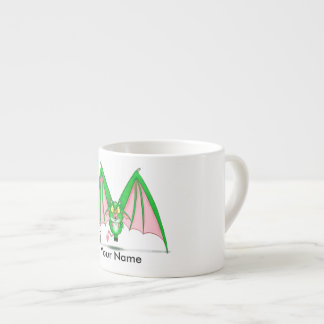 """Personalized espresso mug with """"M"""" Monster"""