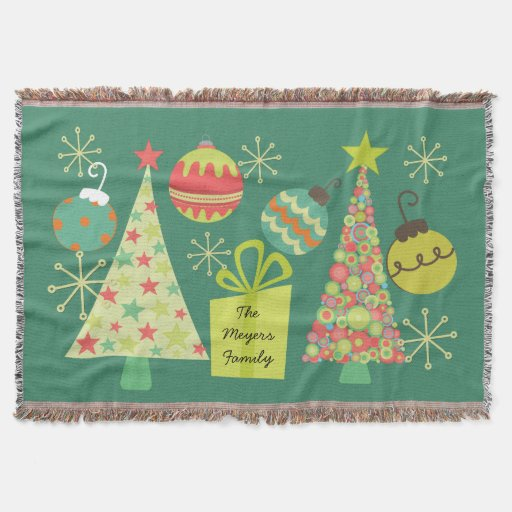 Personalized Everything Christmas Holiday Throw