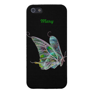 Personalized Exotic Butterfly iPhone 5 Case