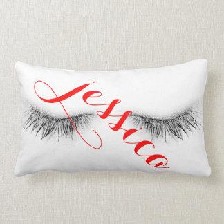 Personalized Eyelashes Design Lumbar Pillow