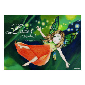 Personalized Fairy Poster