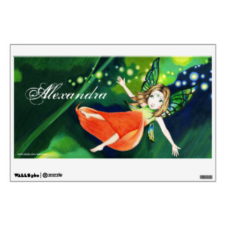 Personalized Fairy Wall Decal