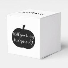 Personalized Fall Theme Bridesmaid Proposal Box