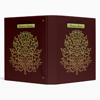 Personalized Family Album 3 Ring Binder