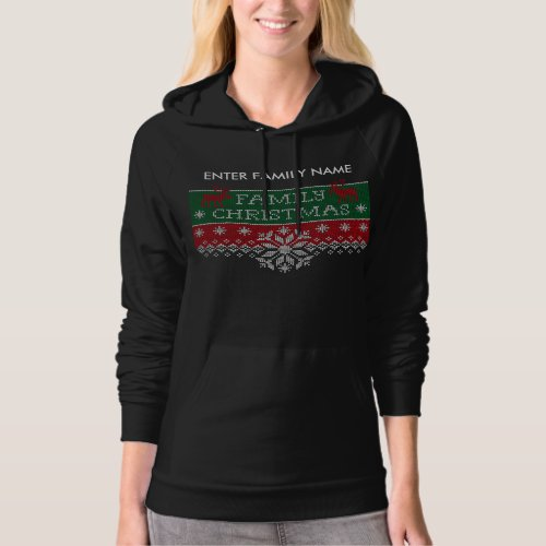 Personalized Family Christmas Ugly Sweater After Christmas Sales 5874