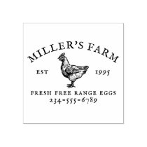 Personalized Family Farm Stamp