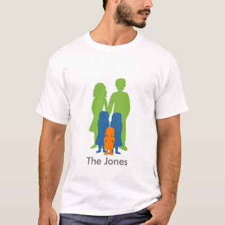 Personalized Family of 5 T-Shirt