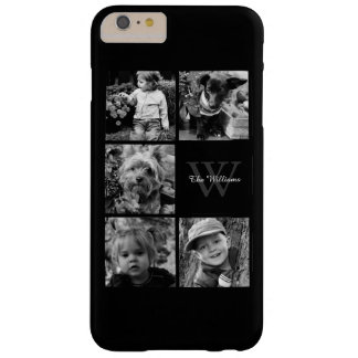 Personalized Family Photo Collage Barely There iPhone 6 Plus Case