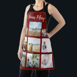 "Personalized Family Photo Collage Christmas Apron<br><div class=""desc"">Customize this Personalized Family Photo Collage Christmas Apron design set for your next great gift idea. This design features Personalized Family Photo Collage Christmas Apron , a great personalized gift idea for a birthday gift or Christmas gift. Makes a great gift for nana, grandma, papa, grandpa, mom. Family and friends...</div>"