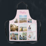 """Personalized Family Photo Collage Name Apron<br><div class=""""desc"""">Customize this family photo collage name apron design set for your next great gift idea. This design features family photo collage name apron, a great personalized gift idea for a birthday gift or Christmas gift. Makes a great gift for nana, grandma, mom, sister, best friend. Family and friends will love...</div>"""