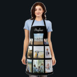 """Personalized Family Photo Collage Name Apron<br><div class=""""desc"""">Customize this Personalized Family Photo Collage Name Apron design set for your next great gift idea. This design features Personalized Family Photo Collage Name Apron, a great personalized gift idea for a birthday gift or Christmas gift. Makes a great gift for nana, grandma, papa, grandpa, mom, . Family and friends...</div>"""