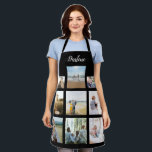 "Personalized Family Photo Collage Name Apron<br><div class=""desc"">Customize this Personalized Family Photo Collage Name Apron design set for your next great gift idea. This design features Personalized Family Photo Collage Name Apron, a great personalized gift idea for a birthday gift or Christmas gift. Makes a great gift for nana, grandma, papa, grandpa, mom, . Family and friends...</div>"