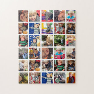 Personalized Family Photo Collage Puzzle