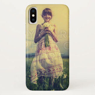 Personalized Family Photo | Easy DIY Fill Template iPhone X Case