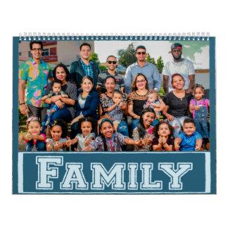 Personalized Family Photo Keepsake Calendar