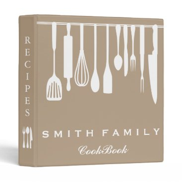 sunbuds Personalized Family Recipe Cookbook 3 Ring Binder