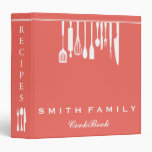 Personalized Family Recipe Cookbook Binder