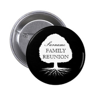 Personalized family reunion family tree buttons