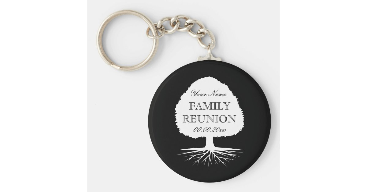 Personalized Family Reunion Party Favor Keychains Zazzle Com