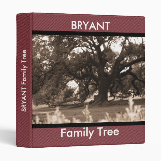 Personalized Family Tree Photo Binder