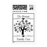 Personalized Family Tree Postage Stamp