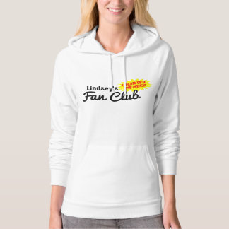 Personalized Fan Club Charter Member Hooded Pullovers