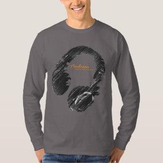 personalized fashion DJ Tee Shirt