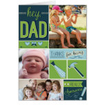 Personalized Fathers Day Card with Photos