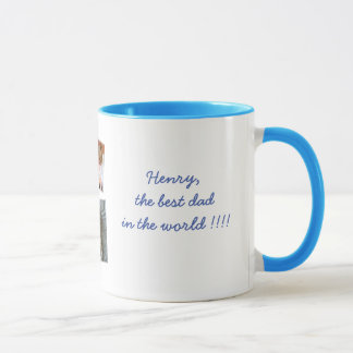 Personalized Fathers Day Ringer Mugs Add Photo